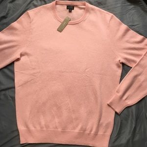 J Crew Cashmere Sweater in Pink, Medium, Brand New